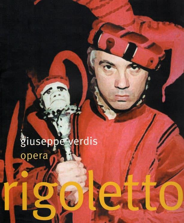 Rigoletto plakat fra Opera Hedeland i 2002