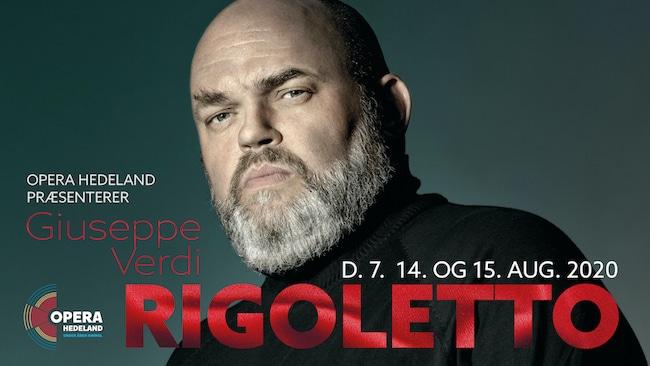Rigoletto 2020 - opføres i Opera Hedeland i august 2020